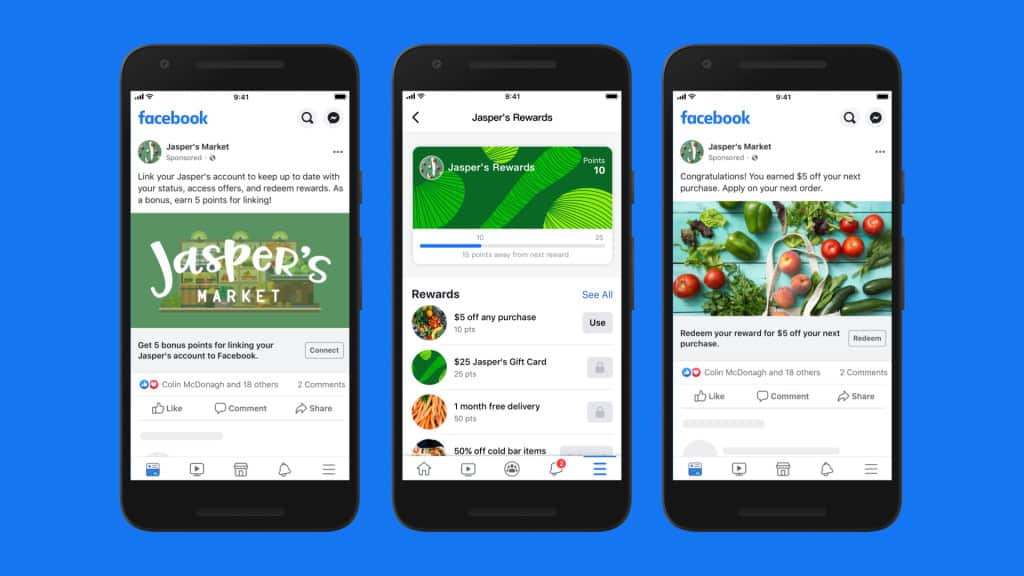 You will soon have the option to have loyalty programs as part of your Facebook Store offerings.