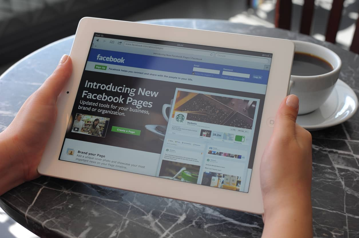 Setup a new Facebook business page
