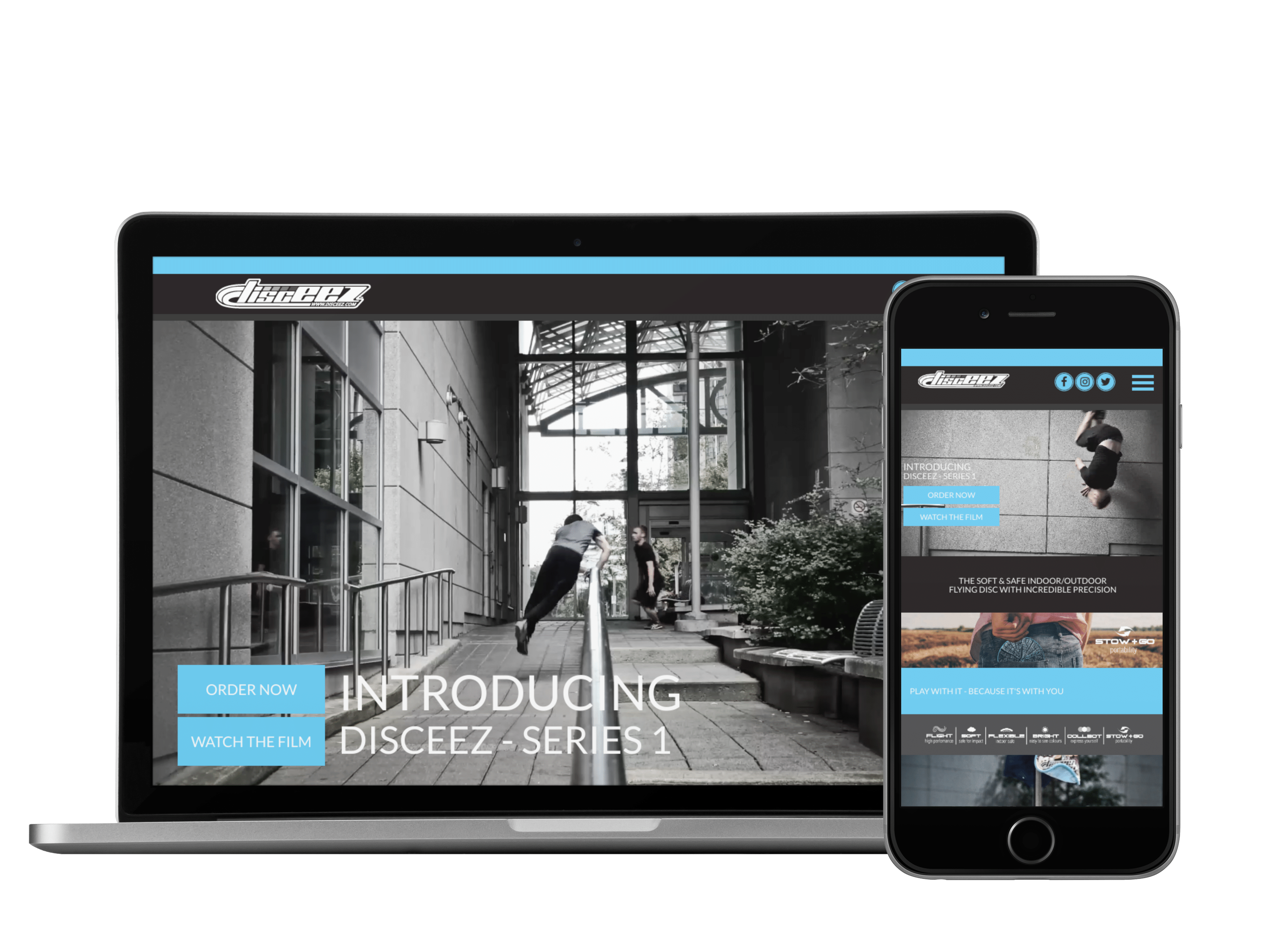 Launching a new product website done by Zealous Social