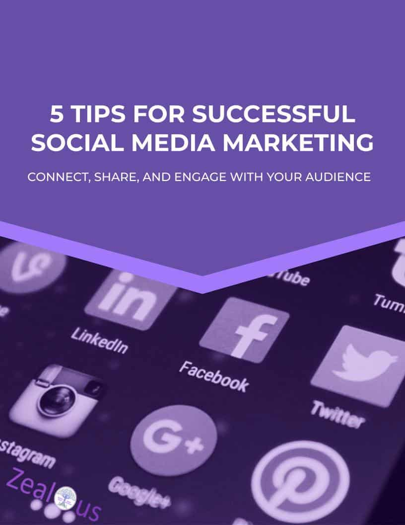 A guide to social media marketing by Zealous Social