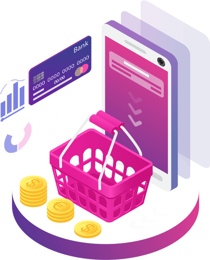 eCommerce solutions to sell your products or services